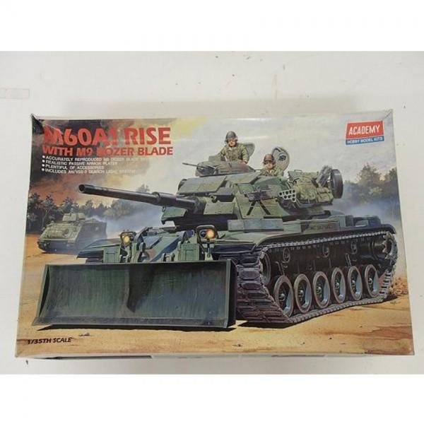【模型買取】アカデミー 1/35[M60A1 RISE WITH M9 DOZER BLADE] プラモデルを買取いたします。
