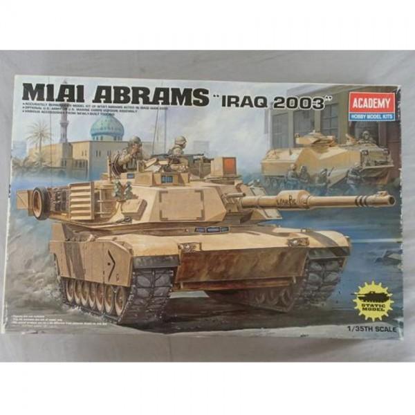 【模型買取】アカデミー 1/35 M1A1 エイブラムス イラク2003 プラモデルを買取いたします。