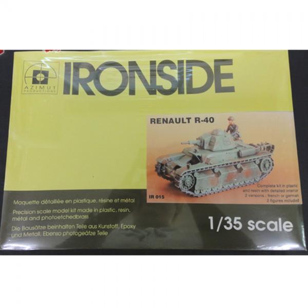 【模型買取】AZIMUT 1/35 [ IRONSIDE RENAULT R-40 ] プラモデルを買取いたします。