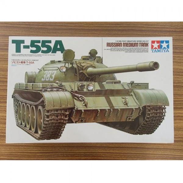 【模型買取】タミヤ 1/35 ソビエト戦車 T-55A プラモデルを買取いたします。