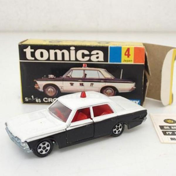 黒箱トミカ No.4 クラウン パトロールカー を買取いたします。