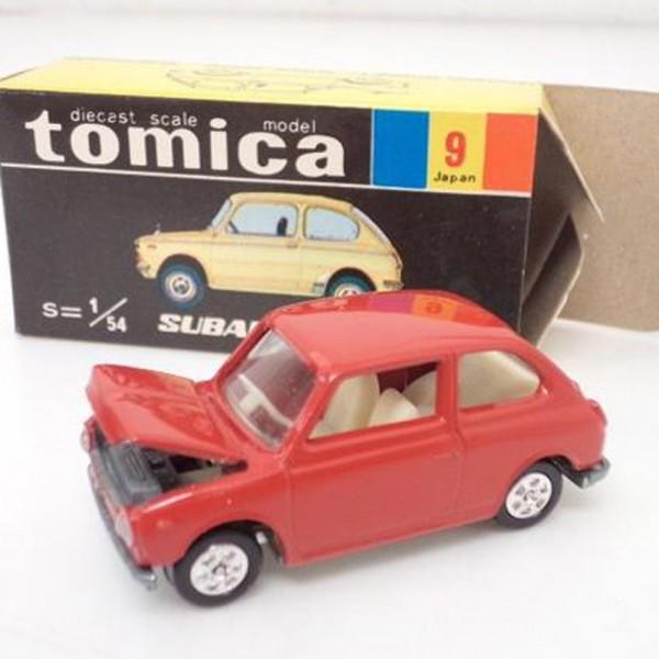 黒箱トミカ No.9 1/54 スバル R2 レッド を買取いたします。