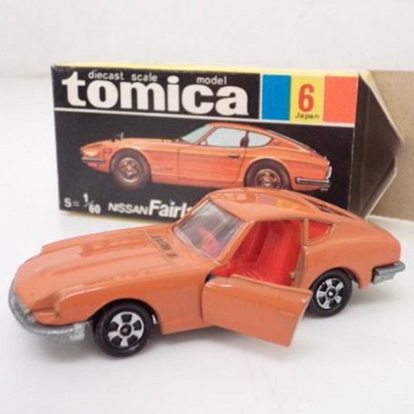 黒箱トミカ ニッサンフェアレディZ432オレンジ を買取いたします。