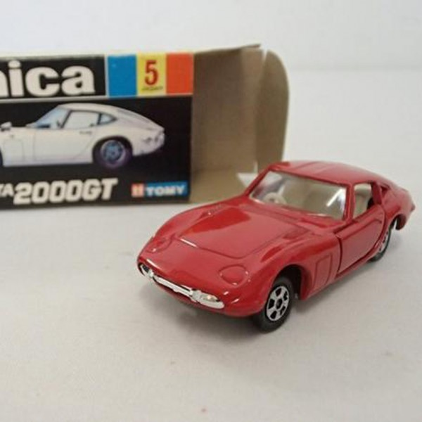 黒箱トミカ No.5 トヨタ 2000GT を買取いたします。