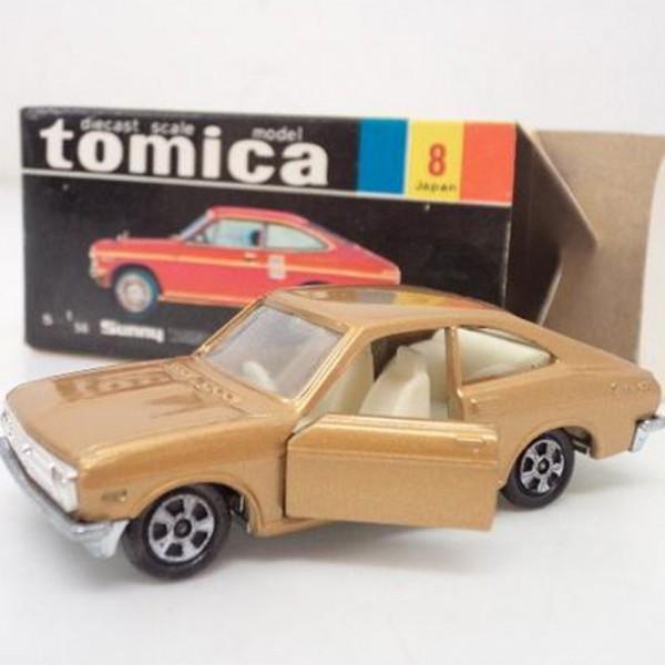 黒箱トミカ サニー 1200 クーペ GX ゴールド を買取いたします。